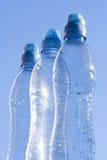 Bouteilles d'eau Photo stock