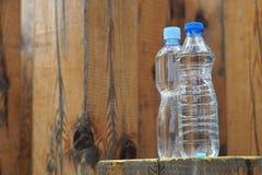 Bouteilles d'eau Images stock