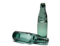 Bouteilles d'eau de bicarbonate de soude Image stock