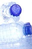 Bouteilles d'eau en plastique Image stock