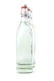 Bouteilles d'eau en verre Photos stock