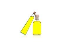 Bouteilles d'huile Image stock
