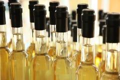 Bouteilles d'huile d'olive Image libre de droits