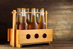 Bouteilles de bière Photo libre de droits