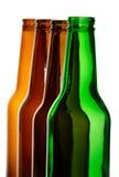 Bouteilles de bière Photo stock