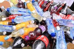 Bouteilles de boisson non alcoolique Photo libre de droits