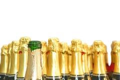 Bouteilles de Champagne photographie stock libre de droits