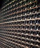Bouteilles de Champagne Photos libres de droits