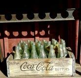 Bouteilles de coke de vintage Photo libre de droits