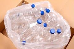 Bouteilles de l'eau Images libres de droits