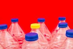 Bouteilles de l'eau Images stock