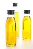 Bouteilles de pétrole Photos stock