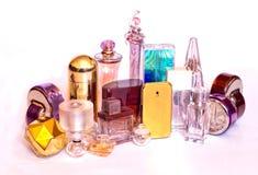 Bouteilles de parfum Photo libre de droits