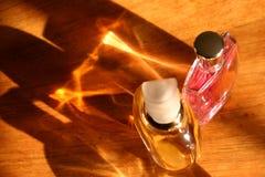 Bouteilles de parfum Photographie stock
