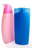 Bouteilles de shampooing photographie stock libre de droits