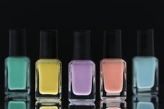 Vernis à ongles Image stock