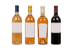 Bouteilles de vin Photo stock