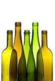 Bouteilles de vin vides photos stock