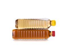 Bouteilles de vinaigre Image stock