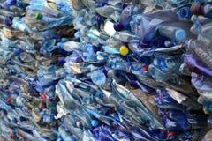 Bouteilles en plastique Photo libre de droits