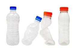 Bouteilles en plastique Photographie stock