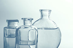 Bouteilles en verre II photographie stock libre de droits