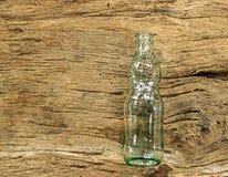 Bouteilles en verre vides Photographie stock libre de droits