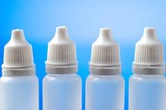 Bouteilles médicales pour des échantillons, médicament, fluides Image libre de droits