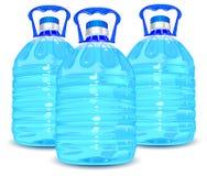 bouteilles trois illustration stock