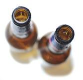Bouteilles vides de bière Images stock