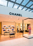Boutigue di Chanel all'aeroporto di Bangkok Fotografia Stock