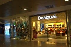Boutique à l'aéroport de Barcelone Images libres de droits
