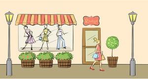 boutique Royaltyfria Bilder