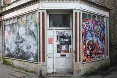 Boutique abandonnée Image libre de droits