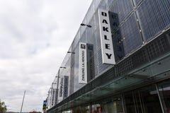 Boutique allemande complexe massive de centre de débouché d'achats de Metzingen  image stock