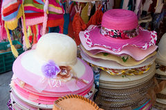Boutique of Beautiful Hats Stock Image