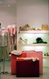 Boutique binnen Royalty-vrije Stock Afbeeldingen