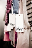 Boutique clothes, new! Royalty Free Stock Photo