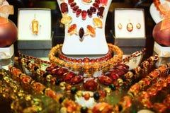 Boutique con gioielli Fotografia Stock