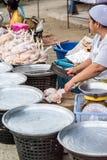Boutique crue de poulet Image libre de droits