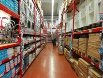 Boutique d'équipement de cuisine et de salle de bains image stock