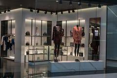 Boutique d'Alexander Wang chez Emquatier, Bangkok, Thaïlande, le 3 février 2018 image stock
