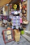 Boutique d'Anduze d'artisanat Image stock