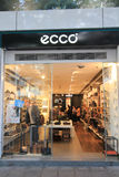 Boutique d'Ecco à Hong Kong Images libres de droits