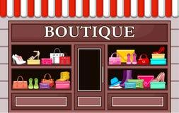 Boutique da forma ilustração royalty free