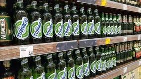 Boutique de bière Photographie stock