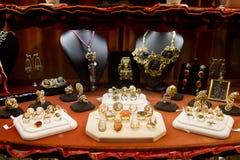 Boutique de bijoux Image libre de droits