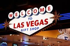 Boutique de cadeaux de Las Vegas Photographie stock