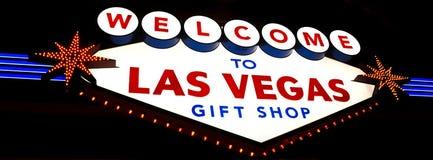 Boutique de cadeaux de Las Vegas image stock