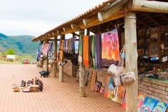 Boutique de cadeaux en Afrique Image libre de droits